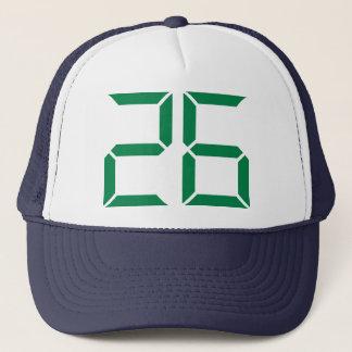 Number - 26 trucker hat