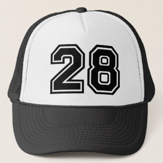 Number 28 Classic Trucker Hat