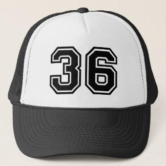 Number 36 Classic Trucker Hat