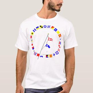 Number 42 Nautical Signal Flag Hoist T-Shirt