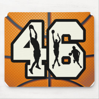 Number 46 Basketball Mouse Pad