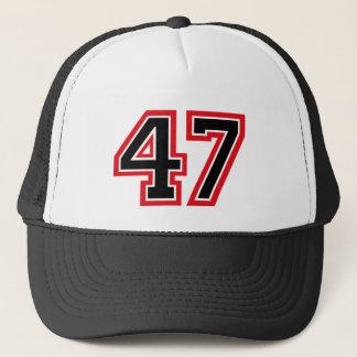 Number 47 trucker hat