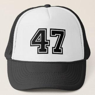 """Number """"47"""" trucker hat"""
