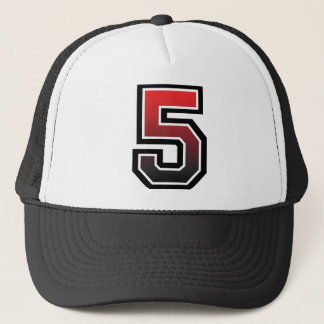 Number 5 Classic Trucker Hat