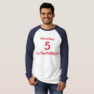 Number 5 for the PATRIOTS T-Shirt