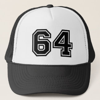 Number 64 Classic Trucker Hat