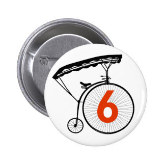 Number 6 Badge - The Prisoner