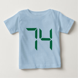 Number – 74 tee shirts