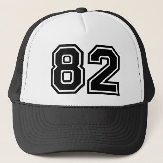 Number 82 Classic Trucker Hat