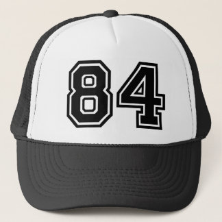 Number 84 Classic Trucker Hat