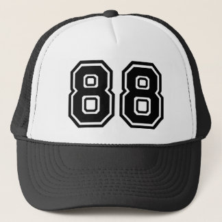 Number 88 Classic Trucker Hat