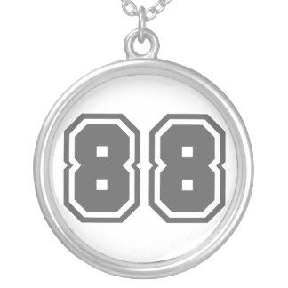 Number 88 jewelry