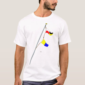 Number 95 Nautical Signal Flag Hoist T-Shirt