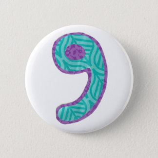 Number Nine Button