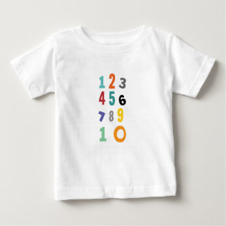 Number, nursery number baby T-Shirt