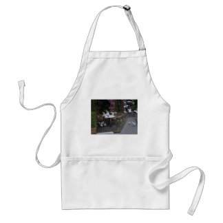 Number Of Pigeons On The Table For Food Standard Apron