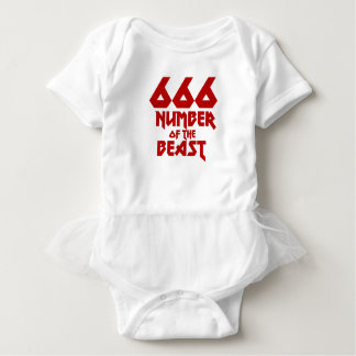 Number of the Beast Baby Bodysuit