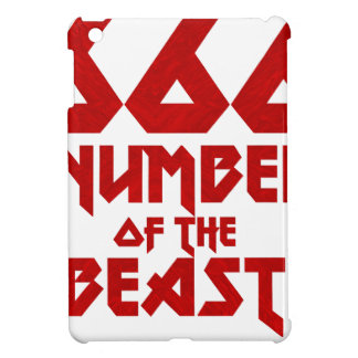 Number of the Beast iPad Mini Covers