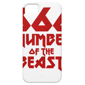 Number of the Beast iPhone 5 Cover