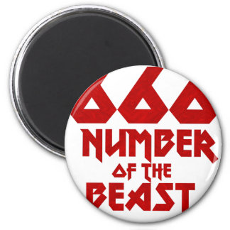 Number of the Beast Magnet