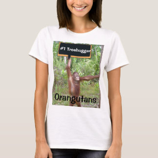 Number One #1 Treehugger T-Shirt