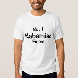 Number one Alabamian Finest T-shirt