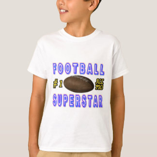 Number One All Pro Football Superstar T-Shirt