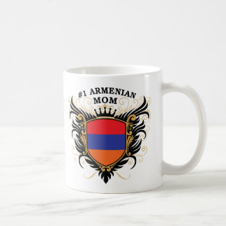 Number One Armenian Mom Basic White Mug