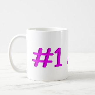 Number One Aunt Basic White Mug