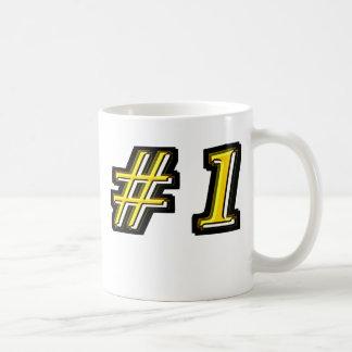 Number One Basic White Mug