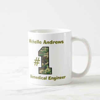 Number One Biomedical Engineer any Profession V48 Coffee Mug