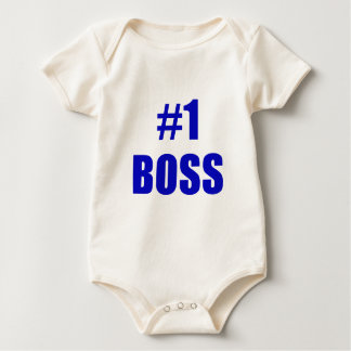 Number One Boss Baby Bodysuit
