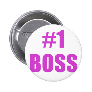 Number One Boss Pins