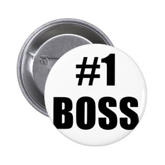 Number One Boss Pin