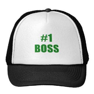 Number One Boss Trucker Hat