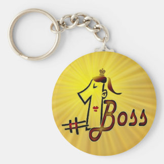Number one boss keychain for ladies