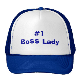 Number One Boss Lady Trucker Hat