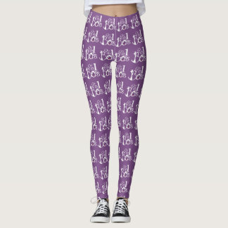 Number one boss Leggings