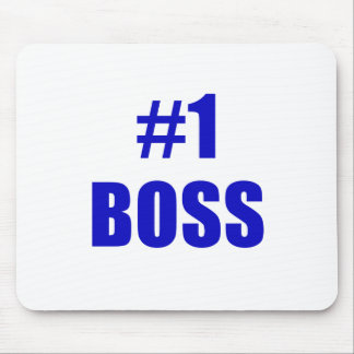 Number One Boss Mousepad