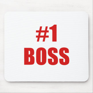 Number One Boss Mousepads