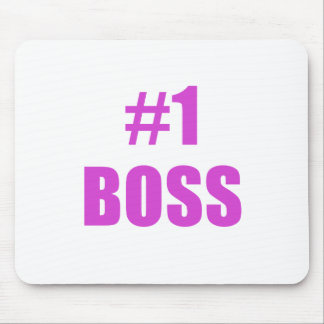Number One Boss Mouse Pad