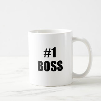 Number One Boss Coffee Mugs