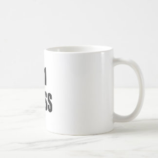 Number One Boss Coffee Mug