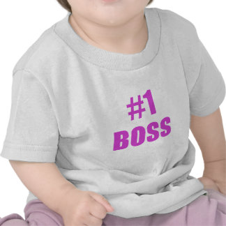Number One Boss T Shirt