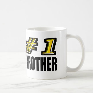 Number One Brother Classic White Coffee Mug