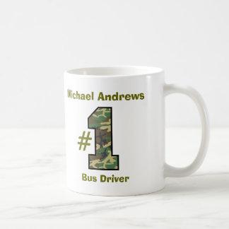 Number One Bus Driver V36 Coffee Mug