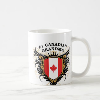 Number One Canadian Grandma Coffee Mug