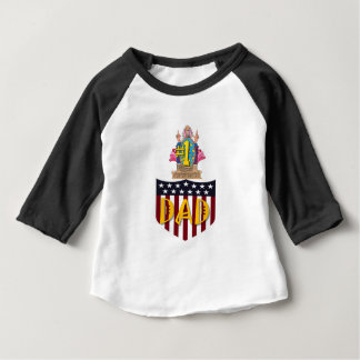 Number One Dad Baby T-Shirt