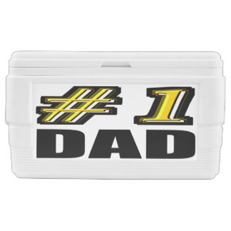 Number One Dad Chest Cooler