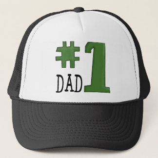 Number One Dad hat